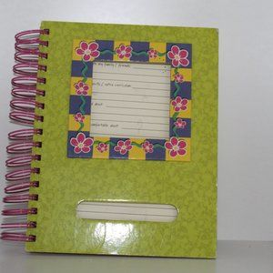 Journal with Bright Colors